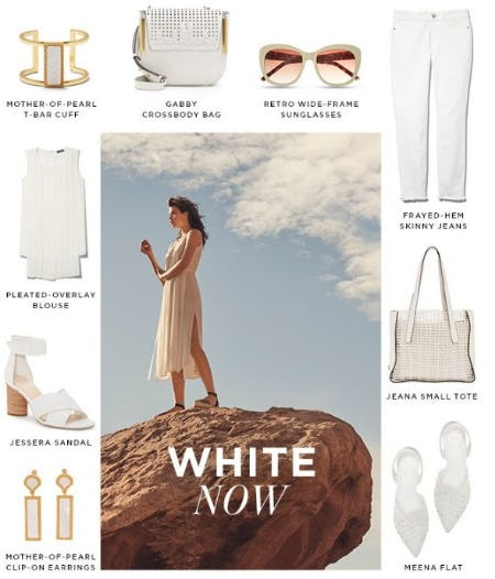 White Now from Vince Camuto