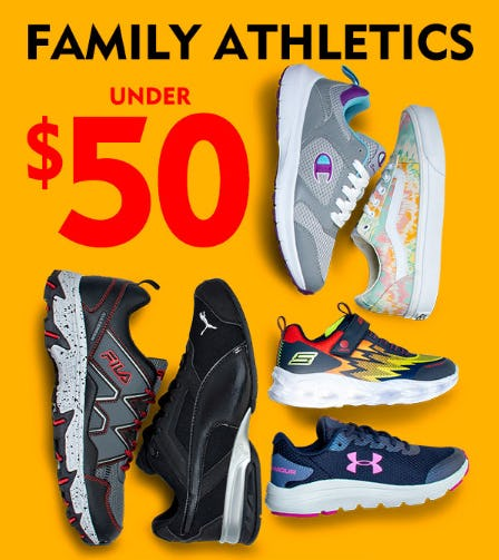 Family Athletics Under $50 from Shoe Carnival