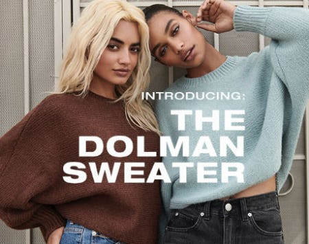 Introducing: The Dolman Sweater from Garage