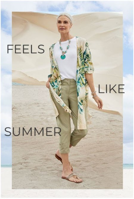 Summer Fave Shorts & Crops from Chico's