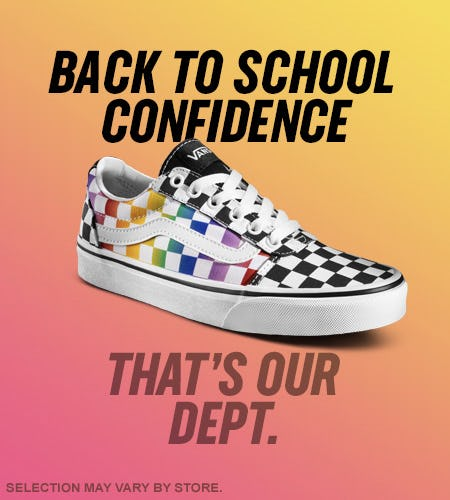 Back to School in Style from Shoe Dept. Encore