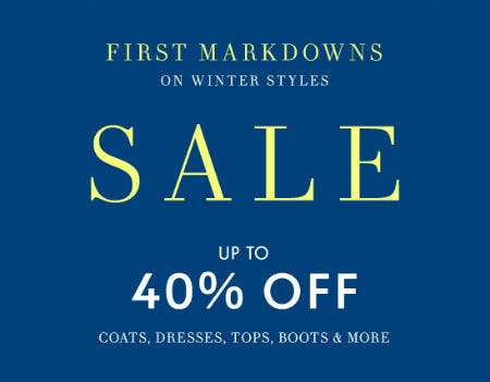 Up to 40% Off Sale from Neiman Marcus