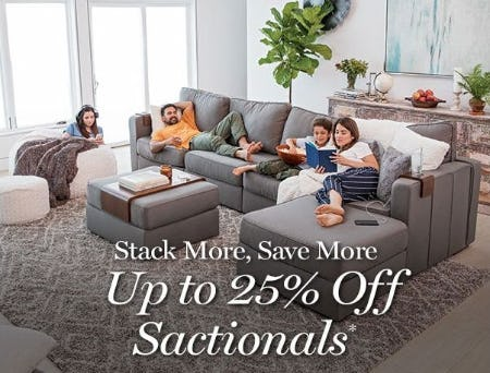 Up to 25% Off Sactionals from Lovesac