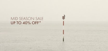 Mid Season Sale: Up to 40% Off from Ted Baker London