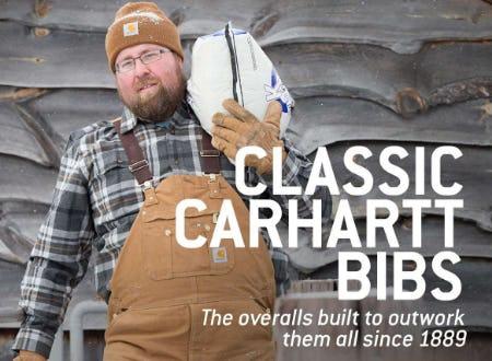 Classic Carhartt Bibs