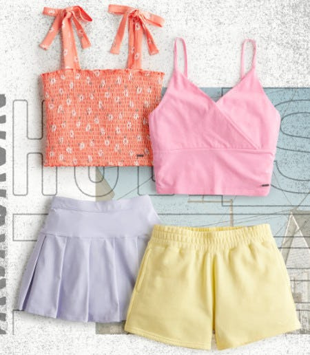 Perfect Pastels from Hollister Co.
