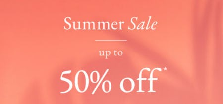 Up to 50% Off Summer Sale from Abercrombie & Fitch