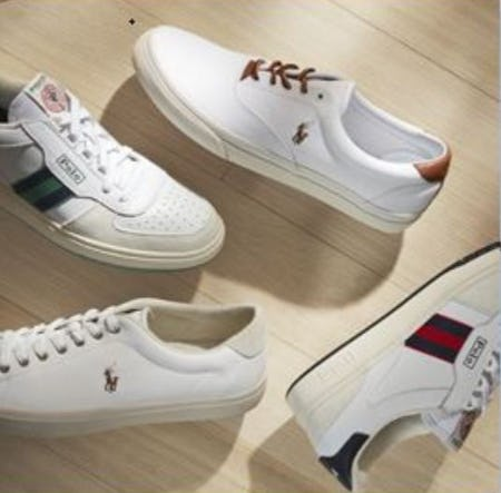 Polo Ralph Lauren Footwear is Here!