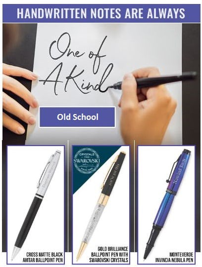 Personalized Pens and Journals