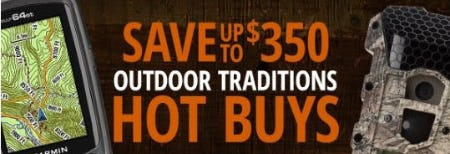 Up to $350 Off Outdoor Traditions Hot Buys from Cabela's