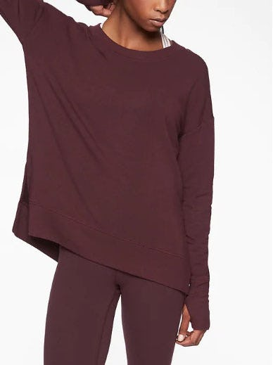 Coaster Luxe Sweatshirt from Athleta