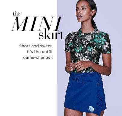 The Mini Skirt from Saks Fifth Avenue