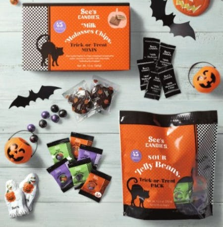 Hauntingly Delicious Halloween Treats from See's Candies