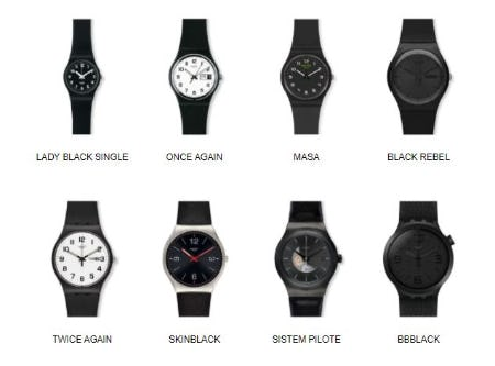 Black Is the New Black from Swatch