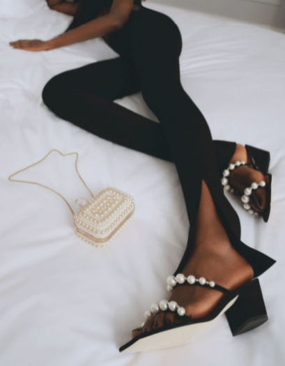 Sandals with a Pearl Twist from Jimmy Choo
