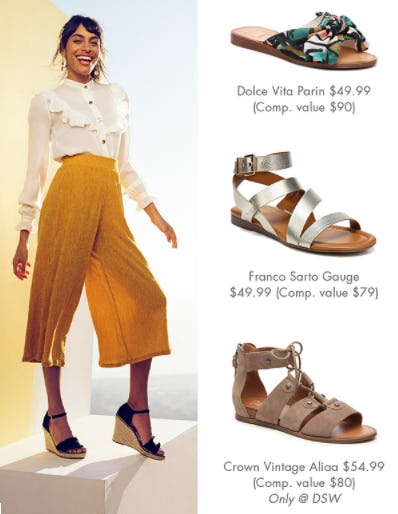 Breezy Sandals from DSW Shoes