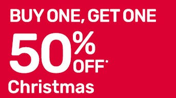 BOGO 50% Off Christmas from Pier 1 Imports