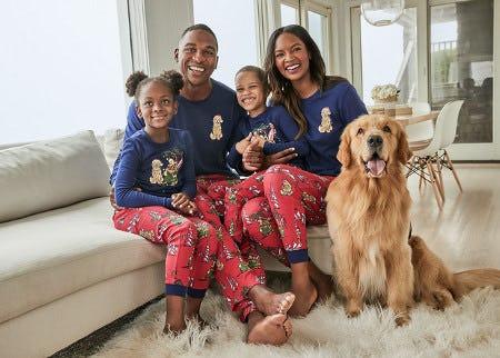 Family PJs from Tommy Bahama