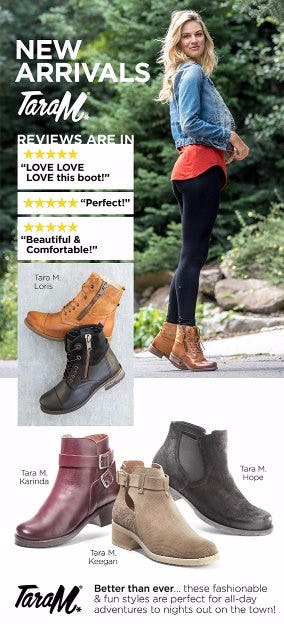 Shop New Boots From Tara M