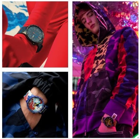 SWATCH X BAPE from Swatch