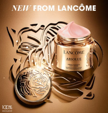New from Lancome from Bloomingdale's