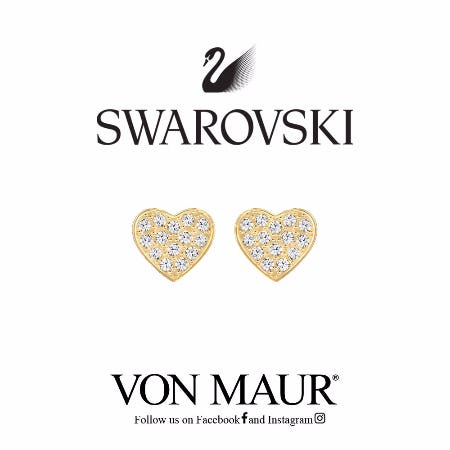 Swarovski Cupid Earrings Gift With Purchase from Von Maur