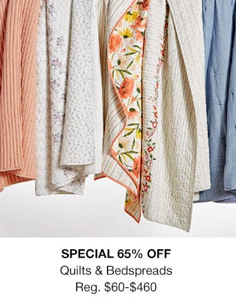 65% Off Quilts & Bedspreads from macy's