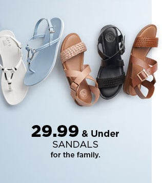 $29.99 & Under Sandals from Kohl's