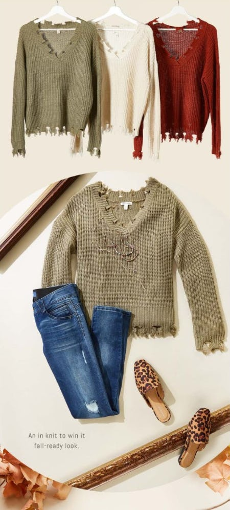 The Common Thread: Distressed Looks from Versona
