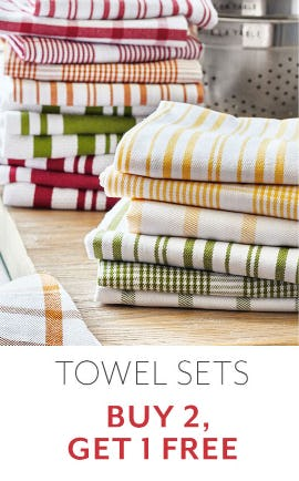 B2G1 Free Towel Sets from Sur La Table