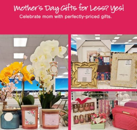 Mother's Day Gifts for Less from Ross Dress For Less