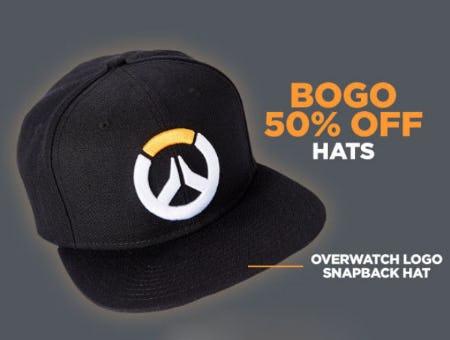 BOGO 50% Off Hats