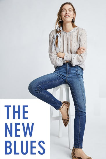 The New Blues from Anthropologie