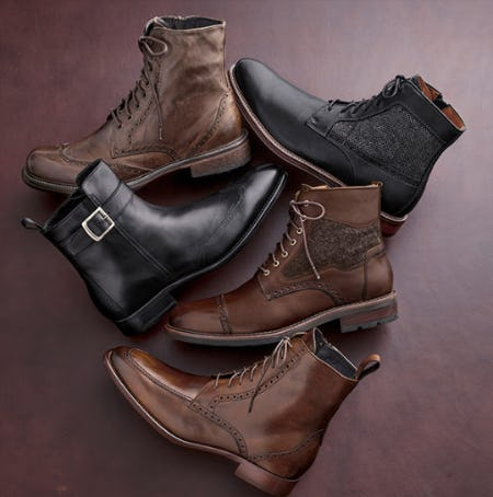 Boots That Suit from JOHNSTON & MURPHY