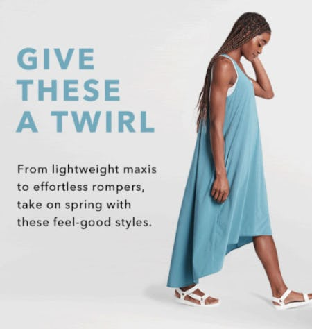 Say Hello to New Dresses from Athleta