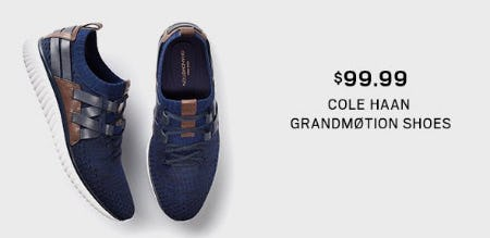 $99.99 Cole Haan GrandMøtion Shoes from Men's Wearhouse
