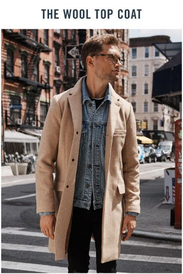 The Wool Top Coat from Abercrombie & Fitch