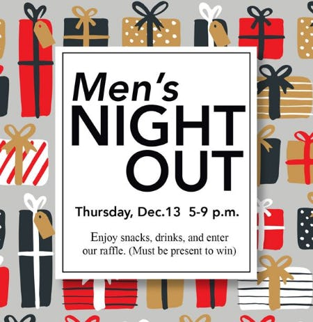 Men's Night Out at Brighton from Brighton Collectibles