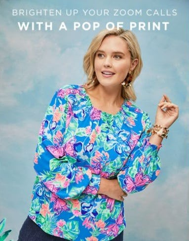 Printed Tops to Love from Lilly Pulitzer