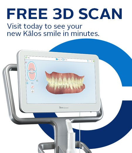 FREE 3D Scan for Clear Aligners from Kalos Invisalign Provider