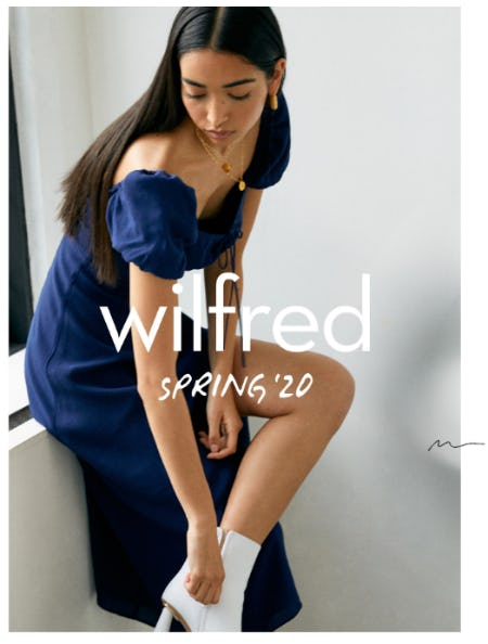 Just In: Wilfred Spring '20 from Aritzia