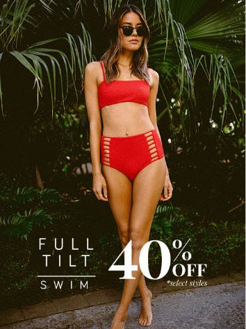 40% Off Full Tilt Swim from Tillys