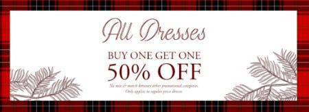 BOGO 50% Off All Dresses from Altar'd State