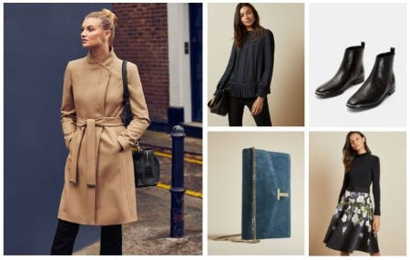 Wardrobe Refresh from Ted Baker London