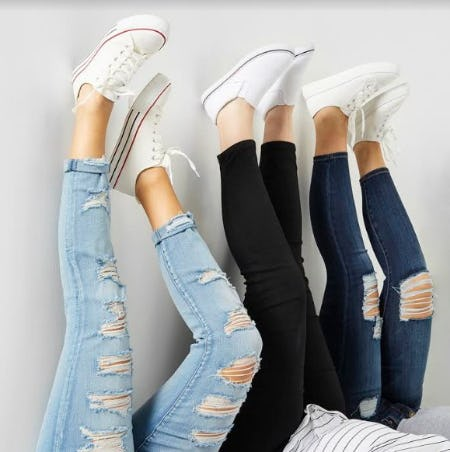 BOGO FREE Denim, Footwear, Screens from rue21