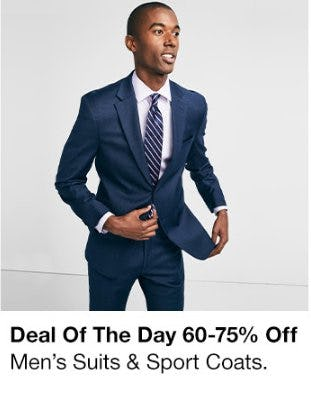 60-75% Off Men's Suits & Sport Coats from macy's