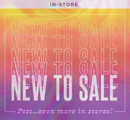 New To Sale from Earthbound Trading Company