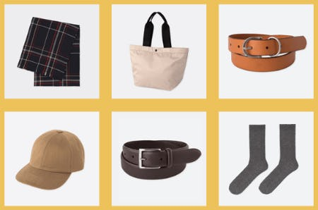 Accessories to Fall For from Uniqlo