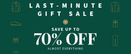 Save up to 70% Off Almost Everything from Jos. A. Bank