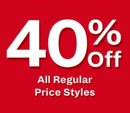 40% Off All Regular Price Styles from Call It Spring